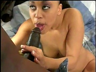 Devine making sex sports with black cock
