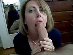 Mom deepthroating dad and swollow his cum - xHamster.com