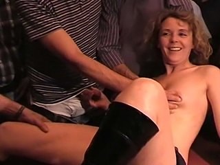 My cum starved wife Lindy is fucked by everybody in thepublic pub, I guess...