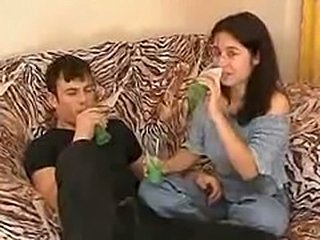 Younger sister fucked with Brother after drinking alcohol