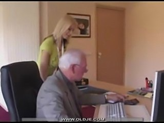 Young blonde swallow old cum  free
