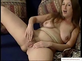 Hairy german milf playing with her hairy pussy  free