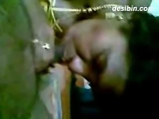 Indian Telugu teacher aunty exposing boobs and gives bj to colleague