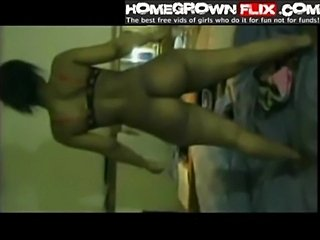 Caramel chick giving head riding & doggystyle ass - homegrow free