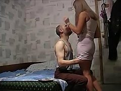 stepfather upskirt his daughter pink skirt and seduce her infront of web camera