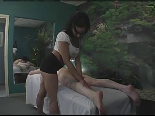 Massage gets out a hand