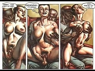 Hardcore sexual orgy comic  free