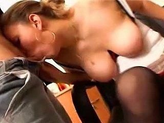 Busty french teacher assfucked - xHamster.com