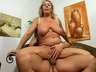 chubby german with huge tits fucked