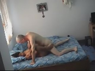 Asian hottie does old man  free