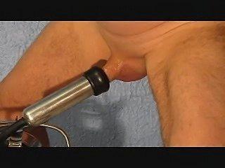 Femdom milks tube
