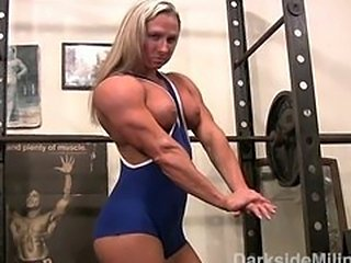 Darkside Milinda  Tight Blue Workout