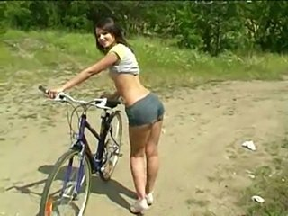 Cute outdoor euro teen  free