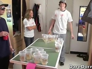 Beer pong is a great game