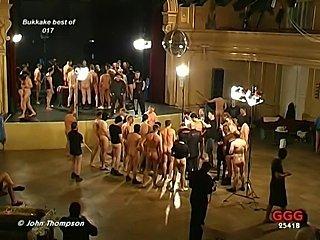 Brunette Bukkake Slut