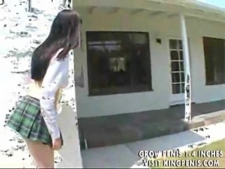 Young cutie gagged and sperm glazed  free