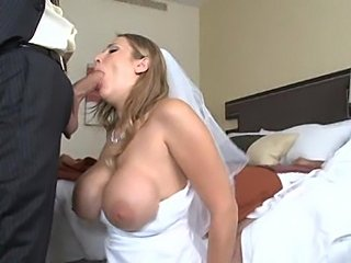 Hot bride Alanah Rae gets a Voodoo cock