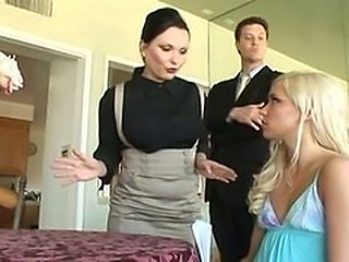 Kacey Jordan and Katja Kassin  Teenage Babysitters