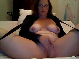 White Chick Masturbation