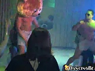 Drunk chicks engage in loose moral behavior (Dancing Bear)