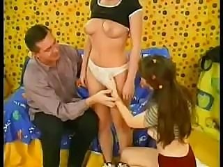 Teen Girl 3some