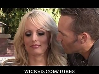 CHEATING BIG TIT PORNSTAR STORMY DANIELS FUCKS STRANGER IN HEELS