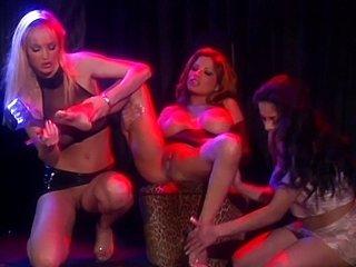 Strippers like to rub their feet