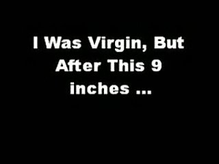 I was ass virgin