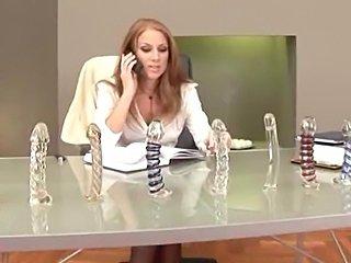 Julia Taylor Smoking & Masturbating