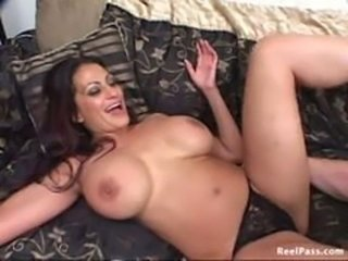Milf with Huge Tits gets rocked deep and hard