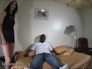 Homemade amateur wife fucks black guy  free