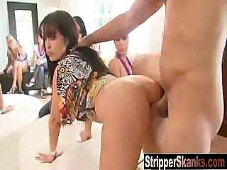 Hot Latina Bday Girl Fucks The Stripper