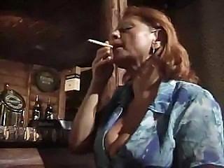 Granny In Bar