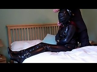Wild Wife Into Tight Hoods and Even Tighter Hogties