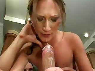 milf inside heat fucks out of doors and have pussy cream pie