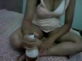 Indian Masum girl having her first time fun with bf