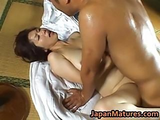 Shouda Asian mature babe gets it doggy part3