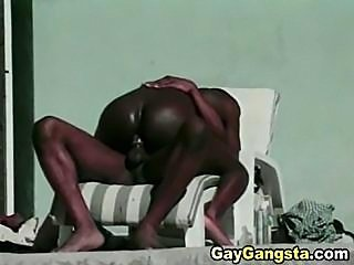 Gay men fucking tight black hole
