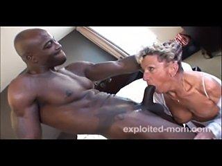 Granny banging big black cock  free