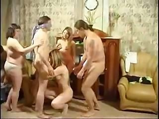 Free russian family orgy video