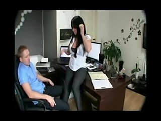 Hot german amateur bitch fuck in office room  free