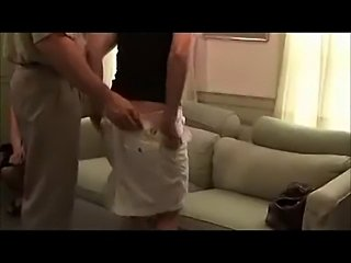 Two Fine Milf Asses Spanked