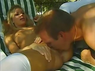 Anal Fun In The Garden