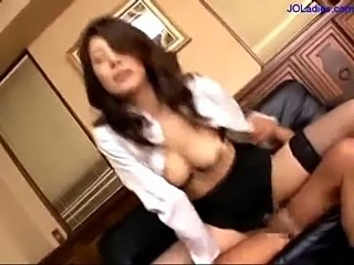 Busty secretary fucked by guy cum to mouth and face on the c free