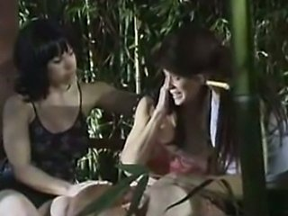 Michelle Tucker and Candace Von Threesome! Outdoor