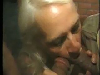 Old Hag Takes It Up Her Ass, Sucks Dirty Dick and Licks Hairy Mexican Asshole