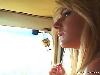 Hot blonde teen
