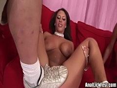 Audriana mya - lesbian ass munching  free