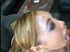 Huge fuckin facial