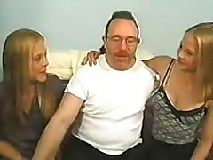 Wonderful twin-blondies fuck as good as hell to the astonishment of this male